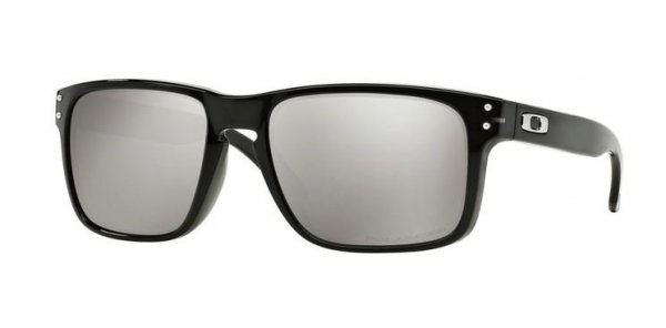 Oakley HOLBROOK. Black Ink/Chrome Iridium Polarized OO9102-68