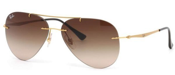 Ray Ban RB 8055 157/13 Aviator Light Ray 59
