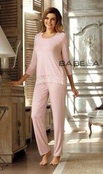 Piżama damska Babella Olimpia Morelowy róż