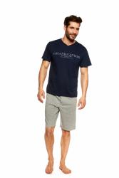 Piżama męska Henderson Urso 36831-59X Granatowo-szara