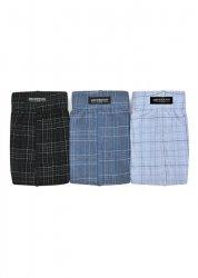 Slipy Henderson 1446 Czarne-jeans-niebieskie (zestaw 3 sztuk)
