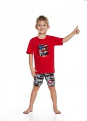 Piżama chłopięca Cornette 789/53 Kids Boy America kr/r
