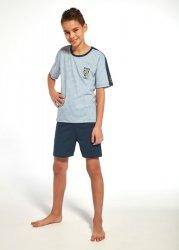 Piżama chłopięca Cornette Young Boy 218/73 Police 134-164