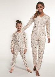 Piżama dziewczęca Kombinezon Cornette Kids Girl 105/119 Polar Bear 2 dł/r 86-128
