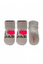 Skarpety Soxo Love Mum, Love Dad 3107