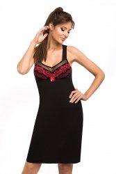 Koszula nocna Jasmine czarna Donna WYSYŁKA 24H