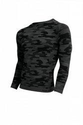 Koszulka męska Thermo Active Military Style długi rękaw grafit Sesto Senso WYSYŁKA 24H