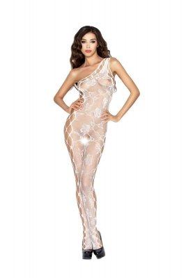 Bodystocking BS036 white Passion