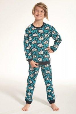Piżama chłopięca Cornette  264/92 kids koala3 turkus