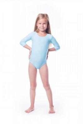 Body gimnastyczne lycra (B8) rękaw 3/4 Shepa
