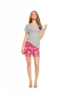 Piżama damska Henderson Ladies Trophy 36789-90X Szaro-różowa
