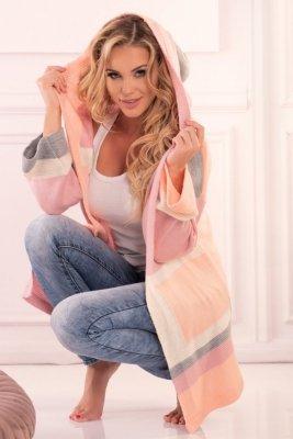 Sweter damski Merribel Linnae Pink