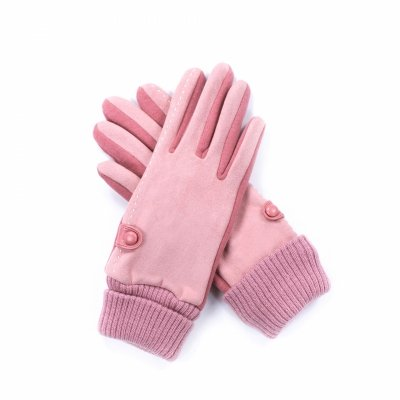 Rękawiczki Art of Polo Penelope Różowe