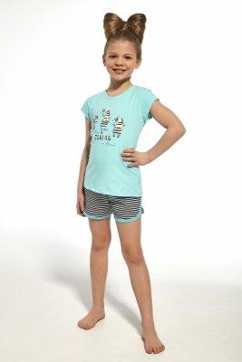 Piżama dziewczęca Cornette 247/66 Zebra