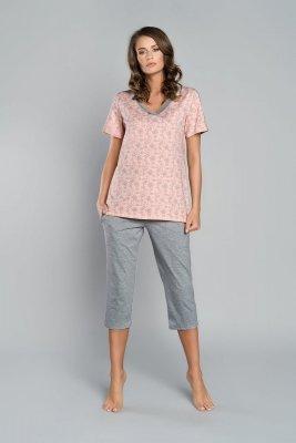 Piżama damska Italian Fashion 3/4 Trina