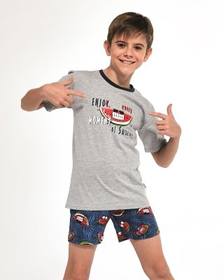 Piżama chłopięca Cornette Young Boy 790/83 Watermelon  134-164