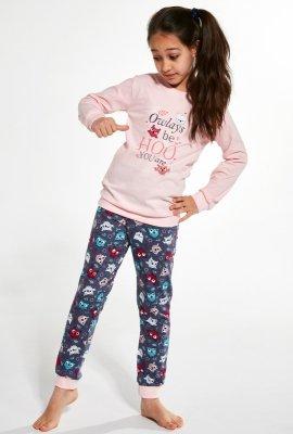 Piżama dziewczęca Cornette Young Girl 378/127 Owl 134-164