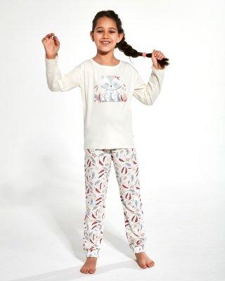 Piżama dziewczęca Cornette Young Girl 973/125 Raccon 2 134-164