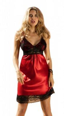 Koszula nocna Agatha czerwona Dkaren