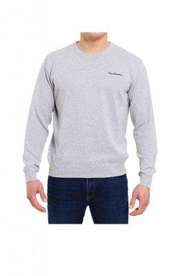 Sweter R-Napis szary Pierre Cardin