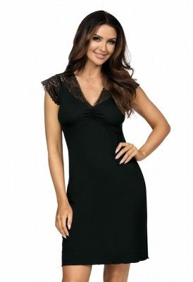 Koszula nocna Eleni czarna Donna