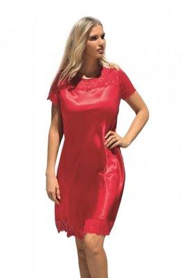 Koszula nocna Louise czerwona Dkaren
