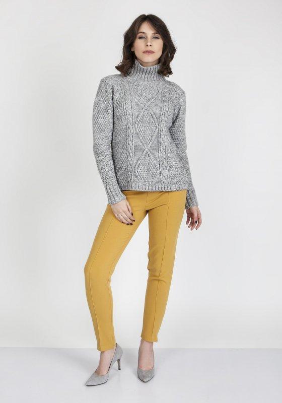 Sweter MKM Estelle SWE 121 Szary