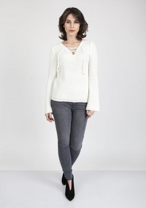 Sweter MKM Kylie SWE 117 Ecru