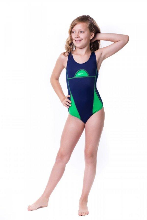 Kostium kąpielowy dziewczęcy Shepa 024 (B2D19)