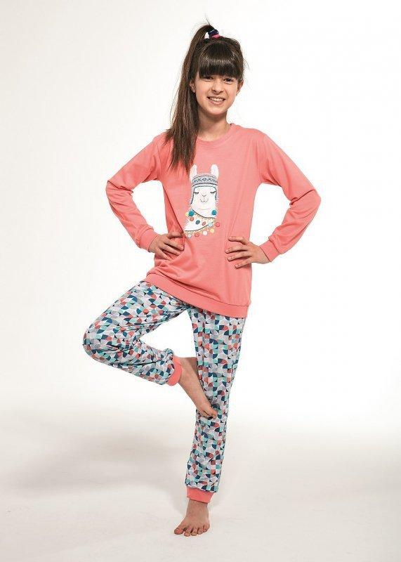 Piżama dziewczęca Cornette Kids Girl 353/115 Llama dł/r 86-128