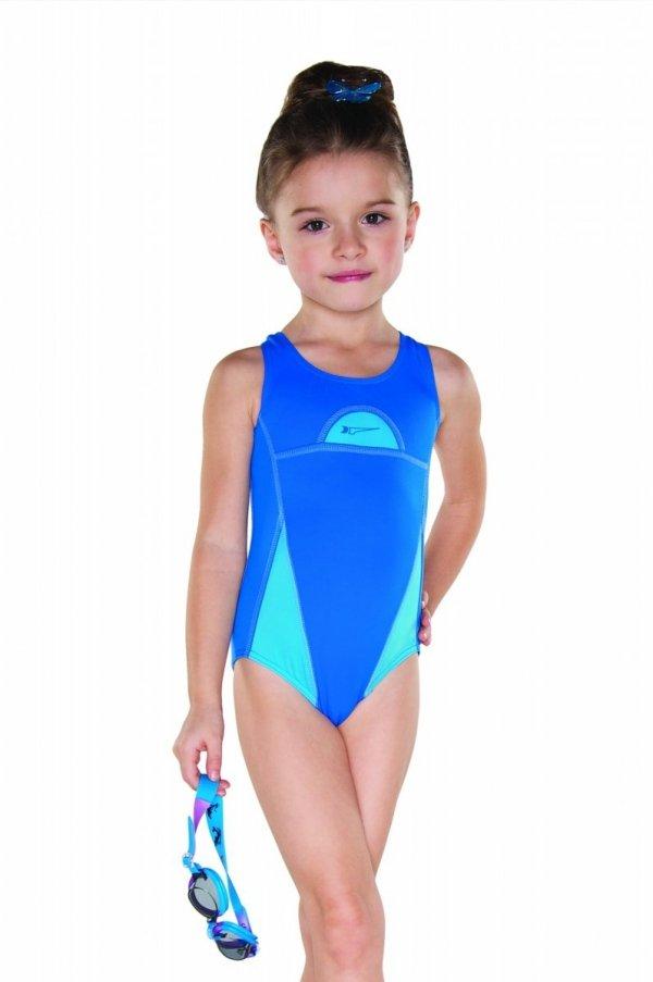 Kostium kąpielowy dziewczęcy Shepa 024 (B4D8)