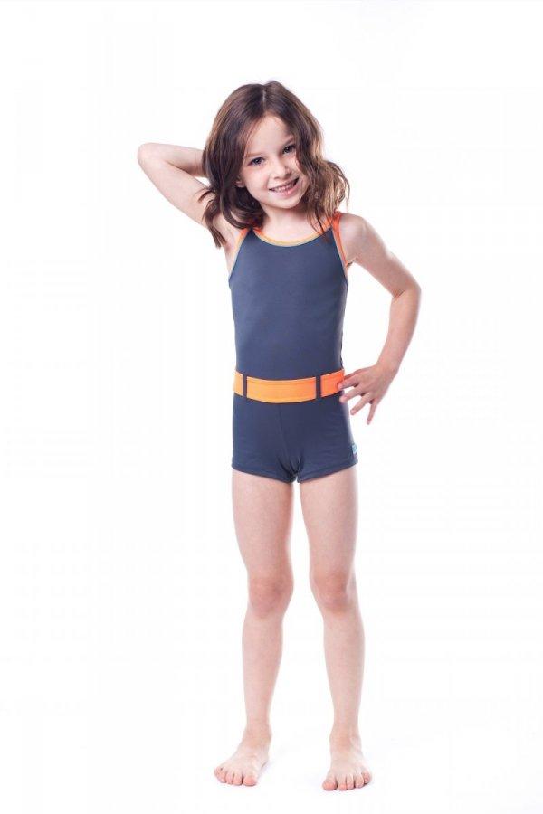 Kostium kąpielowy dziewczęcy Shepa 071 (B3D11)