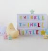 A little lovely company, zestaw liter do lightboxa, Funky colour,