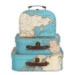 Komplet walizeczek - mapy
