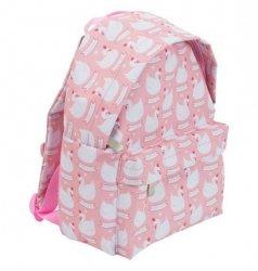 ALLC, plecaczek różowy z łabędziami