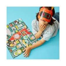 Petit Collage, puzzle dekoder, robot