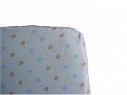 malooni, drukowane prześcieradło z gumką, 120x60cm, jersey