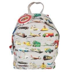 Rex, mały plecaczek, pojazdy