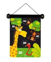 Scratch, rzutki magnetyczne, zoo, S