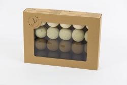cotton balls czekoladowe