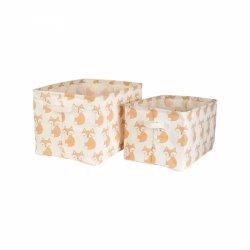 Sassandbell, zestaw 2 pudełek do przechowywania, liski