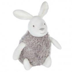 Atmosphera for kids, przytulanka królik, szary