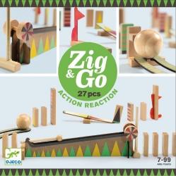Djeco, zestaw Zig&go, 27 elem,
