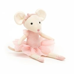 Jellycat, Pirouette myszka Candy 27cm