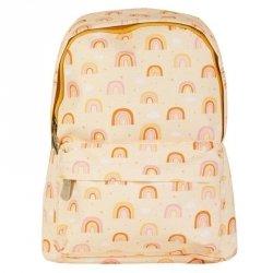 A Little Lovely Company, plecak przedszkolaka, tęcza