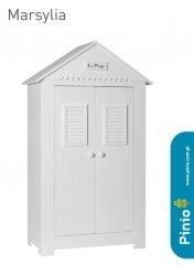 Pinio, szafa 2 drzwiowa, kol. Marsylia,