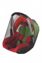 malooni, moskitiera uniwersalna na nosidełko/fotelik, czarna