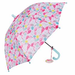 Rex, parasolka dla dzieci, flamingi