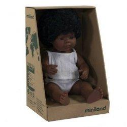 Miniland, lalka dziewczynka Afroamerykanka, 38cm