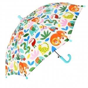 Rex london, parasol dziecięcy, zwierzątka, wild wonders